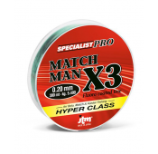 FILO MATCH MAN X3 NYLON JTM FASSA 300 MT